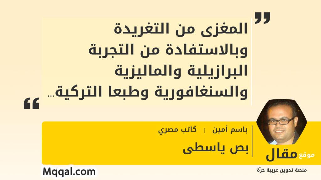التجربة التركية في مصر