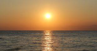 بحر شمس غروب طبيعة