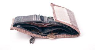 محفظة نقود و مصاري