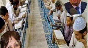 صورة تعبيرية، في الصورة السيد محمد عيسى وزير الشؤون الدينية والأوقاف ، والسيدة وزيرة التربية الوطنية نورية بن غبريت.
