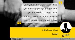 الجسد بقلم : مروان محمد ابوفارة