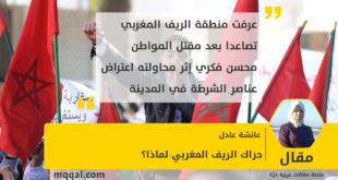 حراك الريف المغربي:لماذا؟ بقلم: عائشة عادل
