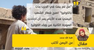 عن اليمن أكتب بقلم : هبة الله محمد