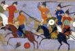 جنود مغول يحاربون