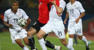 مباراة كرة قدم بين أمريكا و مصر