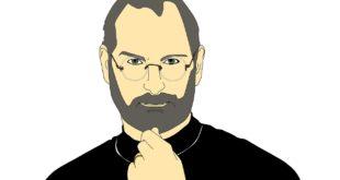 ستيف جوبز مؤسس شركة ابل