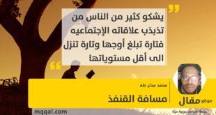 مسافة القنفذ بقلم: محمد مدثر طه