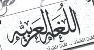 لغة الضاد..بقلم :سفيان عبدالرحمن