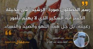حرب التضليل|| بقلم: أسماء محمد عبد الفتاح|| موقع مقال