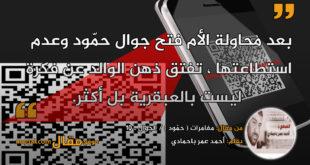 مغامرات ( حمّود ) / الجوال ـ 10 بقلم: أحمد عمر باحمادي || موقع مقال