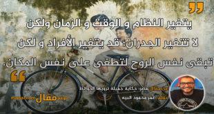 مصر؛ حكاية جميلة ترويها الحوائط. بقلم: عمر محمود البيه || موقع مقال