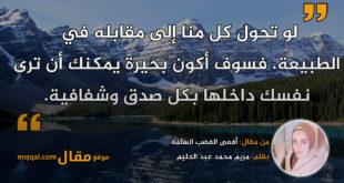 أفعى الغضب السامّة. بقلم: مريم محمد عبد الحليم || موقع مقال