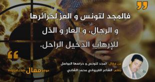 المجد لتونس و حراسها البواسل. بقلم: الشاعر القيرواني محمد الشابي || موقع مقال
