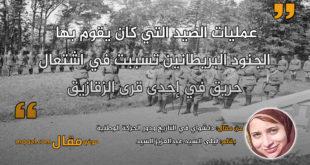 دنشواي في التاريخ ودور الحركة الوطنية . بقلم: ليلى السيد عبدالعزيز السيد || موقع مقال