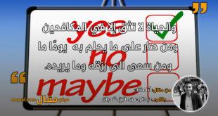 أنا مثلك . بقلم: عبدالرحمن طارق شعبان || موقع مقال