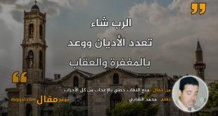 منع النقاب حظي بالإعجاب من كل الأحزاب|| بقلم: محمد الشابي|| موقع مقال