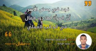 الأسرة ليست كما تعتقد . بقلم: محمد المرابط || موقع مقال
