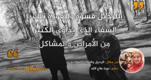 الرحيل والعودة النهائية. بقلم: نورة طاع الله || موقع مقال