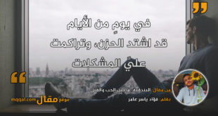 البندقية، ما بين الحب والقتل. بقلم: فؤاد ياسر عامر || موقع مقال