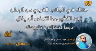 الجانب الغربي من الوطن. بقلم: اسماعيل سلامة محجوب || موقع مقال