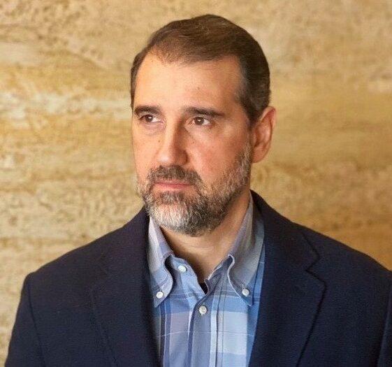 صورة الملياردير السوري رامي مخلوف في فيسبوك