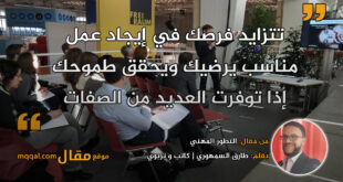 التطور المهني. بقلم: طارق السمهوري || موقع مقال
