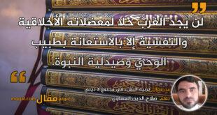 تربية النشء في مجتمع لا ديني || بقلم: صلاح الدين المساوي || موقع مقال